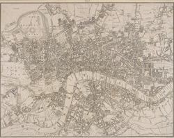Leigh's new plan of London (1818)